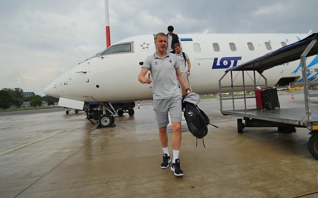 Lietuvos rinktinė atvyko į Serbiją