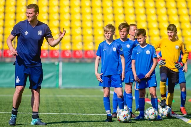 """""""Anderlecht"""" seminarai ir treniruotės Lietuvoje sulaukė ypatingo susidomėjimo"""