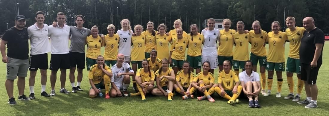 Baltijos taurės starte - pergalė prieš estes