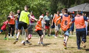 Garliavos sporto šventėje – dėmesys futbolo bendruomenei
