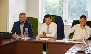"""Su """"UEFA Grow"""" atstovais aptarti LFF vystymosi planai"""