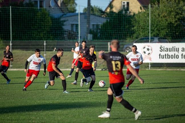 """III lygos pirmenybėse """"Splius"""" taurei laimėti – Kelmės komandos lyderiavimas"""
