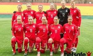 Lietuvos moterų futbolo rinktinė Europos čempionato atranką pradės Šiauliuose