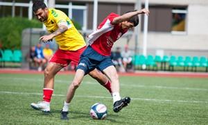 Kaune vyko ypatingas jungtinio futbolo turnyras
