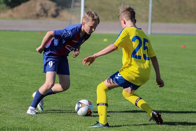 U-14 amžiaus grupėje šėlsta Klaipėdos ir Vilniaus ekipos