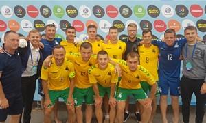 """Į paplūdimio futbolą žengęs M.Malinauskas: """"Į Europos čempionatą vyksime ne patirties, o rezultatų"""""""