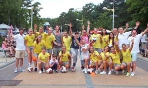 Prieš startą UEFA Čempionių lygoje Lietuvos čempionės pramogavo Palangoje