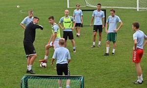 """""""Marijampolė City"""" ir Anglijos akademija vykdė įgūdžių tobulinimo stovyklą"""