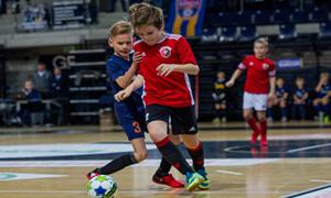 Prasidėjo registracija į Lietuvos vaikų salės futbolo čempionatą