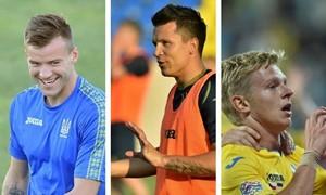 Į Ukrainos rinktinę dvikovai su Lietuva grįžta žvaigždžių trio