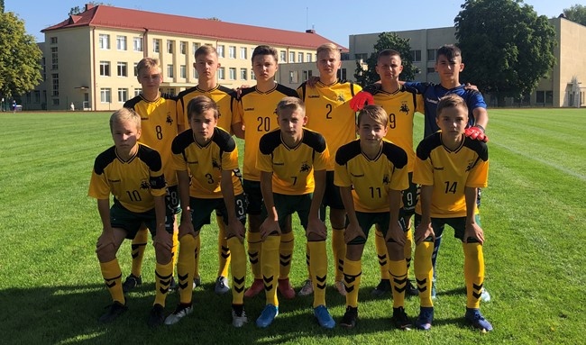 """UEFA """"Development"""" turnyrą U-15 rinktinė baigė pralaimėjimu"""