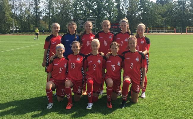 Baltijos taurės turnyrą baigė pralaimėjimu estėms