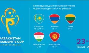 U-17 rinktinės rezervas įgis patirties turnyre Kazachstane