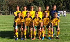 Sužaista lygiosiomis su Slovakija