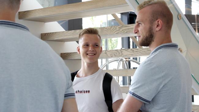 Rinktinė susirinko į stovyklą Vilniuje