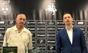 """Ištraukti """"SHARP LFF taurės"""" pusfinalio burtai"""