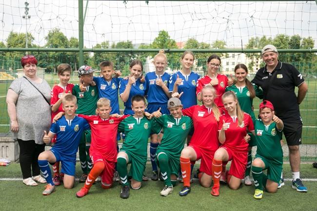 UEFA fondo dotacija bus skirta Nemuno krašto vaikams