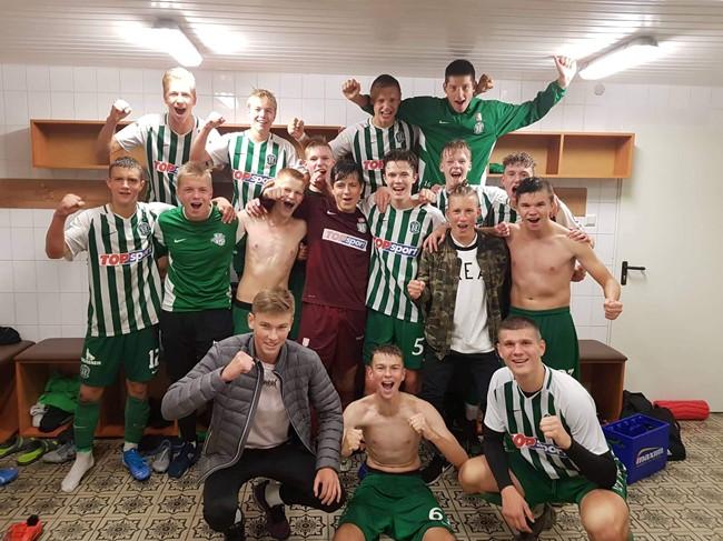 Žalgiriečiai triumfavo SHARP EJL U17 divizione