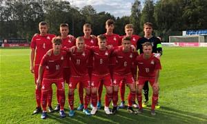 U-17 rinktinė pralaimėjo Danijai
