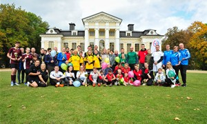 Šeimų turnyre Vilkaviškio rajone – nuo vaikų iki senjorų