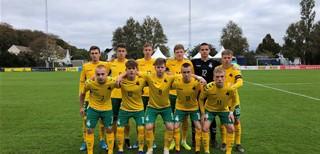 Burtai suvedė Lietuvos U-17 rinktinę su belgais