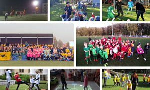 Masinio futbolo savaitę – dalyvių, vietų ir žaidimo būdų įvairovė