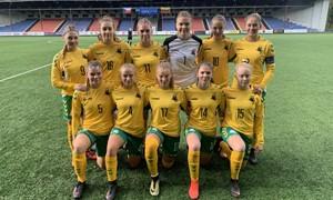 Merginų U-19 rinktinė pralaimėjo čekėms