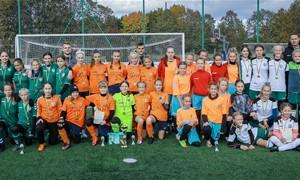 LMFA Mergaičių futbolo čempionatą vainikavo baudinių serija