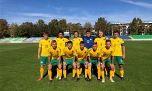 Vaikinų U-19 rinktinė iškovojo pergalę prieš Rumuniją