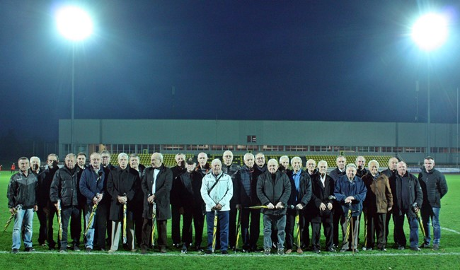 Pagerbti Šiaulių futbolo veteranai