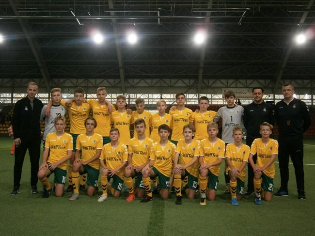Regionų pirmenybių U-14 komanda turnyrą pradėjo įvarčių gausa