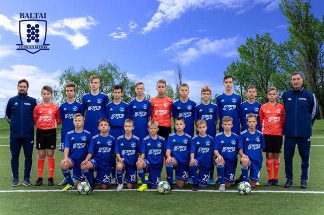 Klaipėdiečiai laimėjo U-14 Antros lygos grupės varžybas