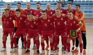 Po pirmo kėlinio pirmavusi Lietuvos futsal rinktinė nusileido Latvijai