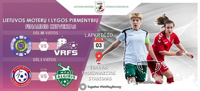 Sekmadienį Panevėžyje vyks LMFA I lygos finalinis ketvertas
