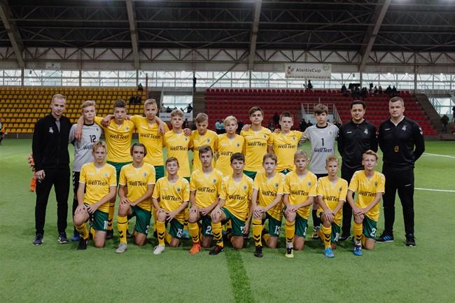 Regionų pirmenybių U-14 rinktinė užėmė 5 vietą