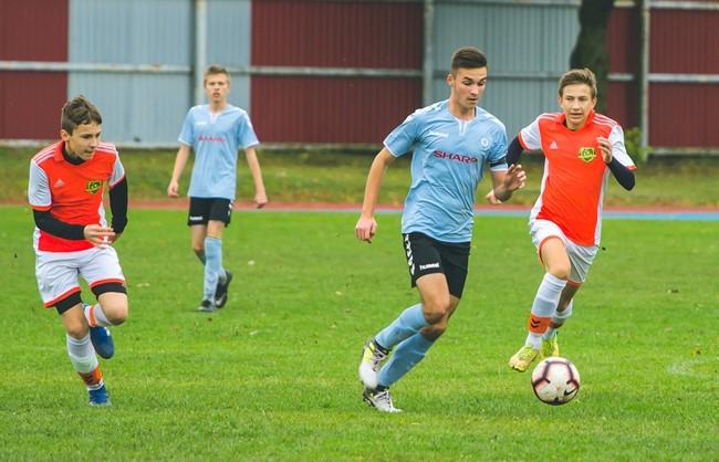 Baigėsi Jaunimo futbolo Pirmos lygos reguliarusis sezonas