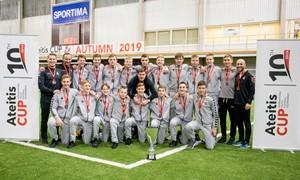 Regionų pirmenybių U-15 komanda iškovojo bronzos medalius
