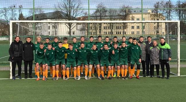 Regionų pirmenybių U-16 komanda pasiruošusi tarptautiniam startui