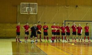 Jaunimo futsal rinktinė Prienuose mes iššūkį prancūzams