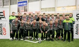 Regionų pirmenybių U-16 komanda pelnė sidabro medalius