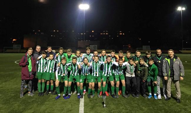 """I lygos U-15 diviziono nugalėtoja tapo FA """"Žalgirietis"""""""