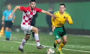 Lietuviai nusileido Kroatijos jaunimo rinktinei