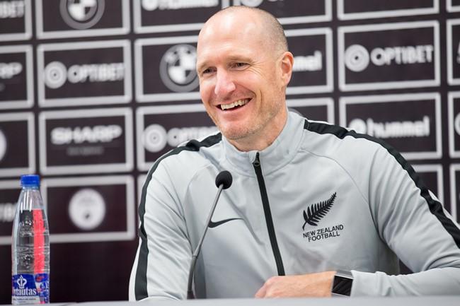 """Naujosios Zelandijos treneris: """"Tikiuosi drąsaus mūsiškių žaidimo"""""""