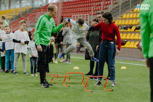 Už futbolo treniruotes ypatingiems vaikams – garbingas UEFA apdovanojimas