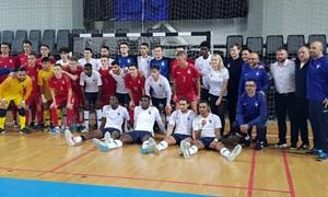 Lietuvos U-21 futsal rinktinė antrose rungtynėse prieš Prancūziją pelnė 3 įvarčius