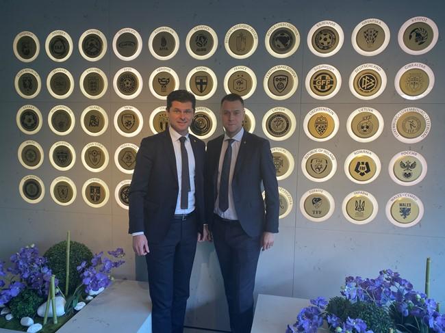 UEFA būstinėje aptarta sutartų varžybų problematika
