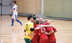 Lietuvos rinktinė nugalėjo Estiją