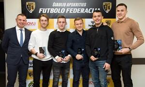 Įvyko Šiaulių apskrities futbolo bendruomenės apdovanojimų šventė