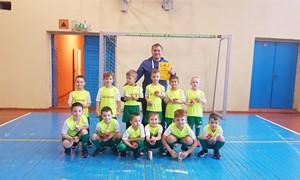 """Trakų rajone prasidėjo priešmokyklinio amžiaus vaikų futbolo turnyras """"Futboliukas"""""""
