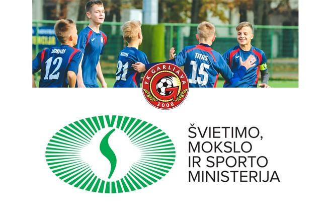 """FK """"Garliava"""" projektui įgyvendinti skirtas sporto rėmimo finansavimas"""